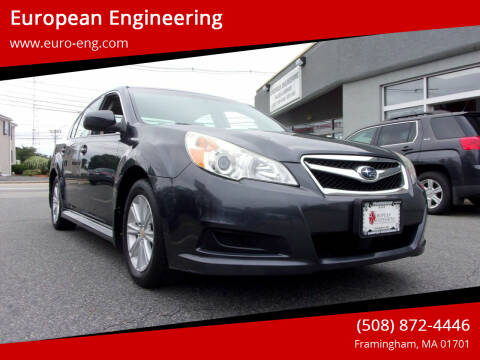 2012 Subaru Legacy for sale at European Engineering in Framingham MA