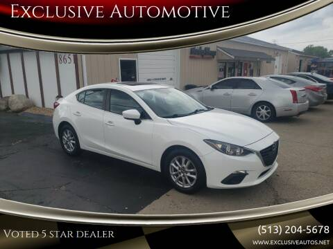2014 Mazda MAZDA3 for sale at Exclusive Automotive in West Chester OH