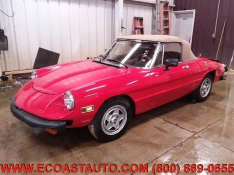 1982 Alfa Romeo Spider for sale at East Coast Auto Source Inc. in Bedford VA
