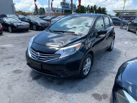 2016 Nissan Versa Note for sale at America Auto Wholesale Inc in Miami FL
