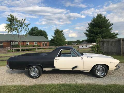 1969 Chevrolet El Camino for sale at 500 CLASSIC AUTO SALES in Knightstown IN