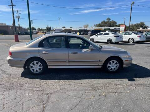 2005 Hyundai Sonata for sale at University Auto Sales in Cedar City UT