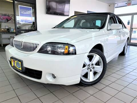 2006 Lincoln LS for sale at SAINT CHARLES MOTORCARS in Saint Charles IL