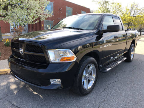 2012 RAM Ram Pickup 1500 for sale at Commercial Street Auto Sales in Lynn MA