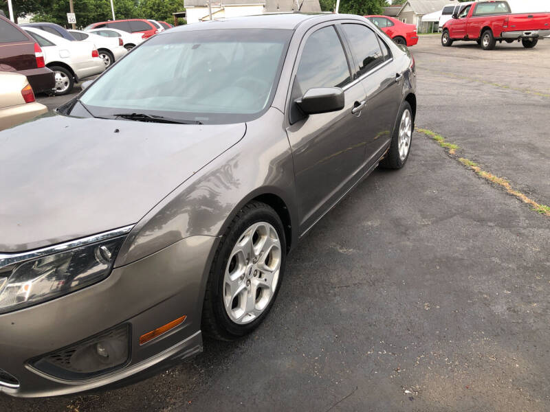2010 Ford Fusion for sale at Mike Hunter Auto Sales in Terre Haute IN