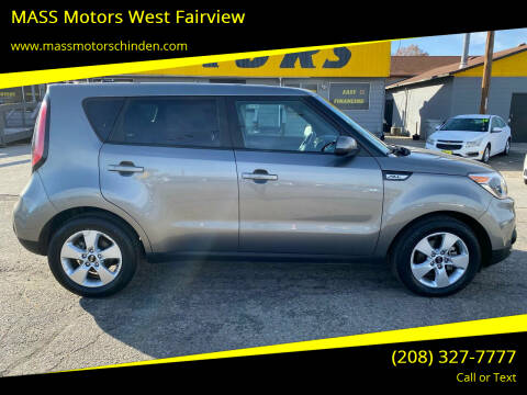 2017 Kia Soul for sale at M.A.S.S. Motors - West Fairview in Boise ID