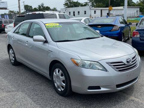 2009 Toyota Camry Hybrid for sale at MetroWest Auto Sales in Worcester MA