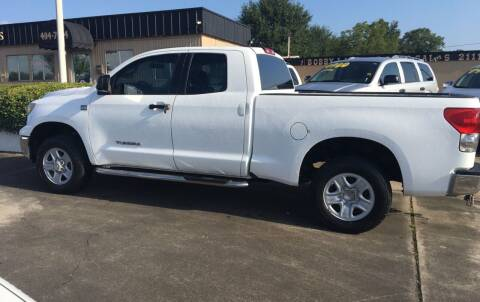 2008 Toyota Tundra for sale at Bobby Lafleur Auto Sales in Lake Charles LA