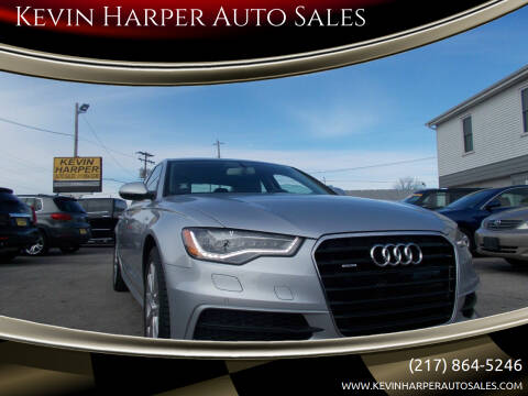 2013 Audi A6 for sale at Kevin Harper Auto Sales in Mount Zion IL