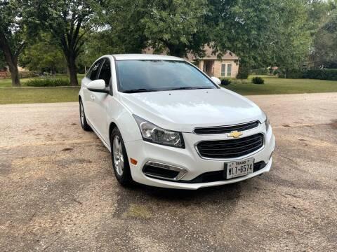 2015 Chevrolet Cruze for sale at CARWIN MOTORS in Katy TX