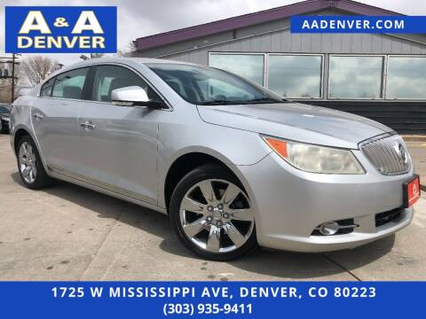 2010 Buick LaCrosse for sale at A & A AUTO LLC in Denver CO