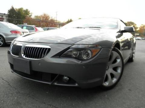 2006 BMW 6 Series for sale at DMV Auto Group in Falls Church VA