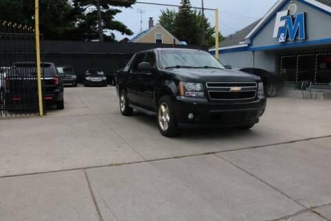 2010 Chevrolet Avalanche for sale at F & M AUTO SALES in Detroit MI