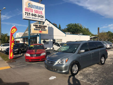 2007 Honda Odyssey for sale at Sunray Auto Sales Inc. in Holiday FL