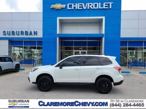 2018 Subaru Forester for sale at Suburban Chevrolet in Claremore OK
