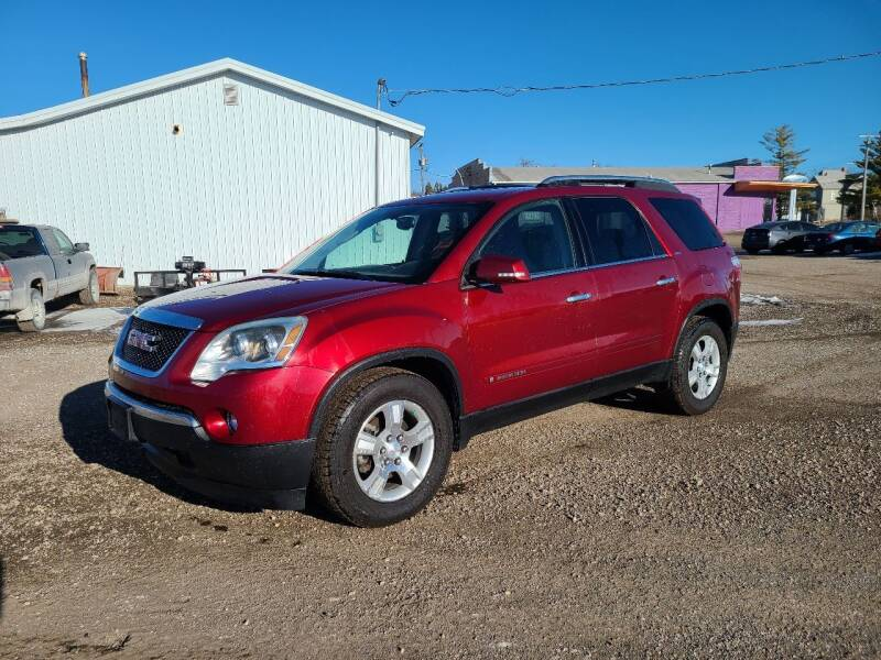 2008 GMC Acadia for sale at BROTHERS AUTO SALES in Eagle Grove IA