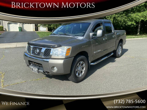 2006 Nissan Titan for sale at Bricktown Motors in Brick NJ