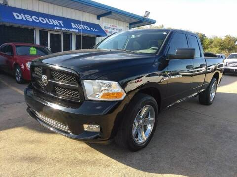 2012 RAM Ram Pickup 1500 for sale at Discount Auto Company in Houston TX