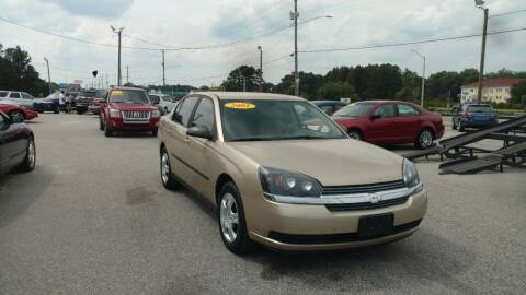 2005 Chevrolet Malibu for sale at Kelly & Kelly Supermarket of Cars in Fayetteville NC