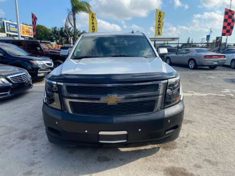 2015 Chevrolet Suburban for sale at America Auto Wholesale Inc in Miami FL