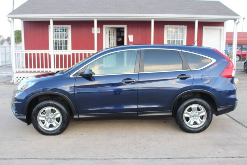 2015 Honda CR-V for sale at AMT AUTO SALES LLC in Houston TX
