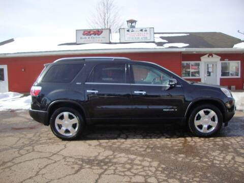 2008 GMC Acadia for sale at G and G AUTO SALES in Merrill WI