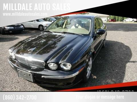 2005 Jaguar X-Type for sale at MILLDALE AUTO SALES in Portland CT