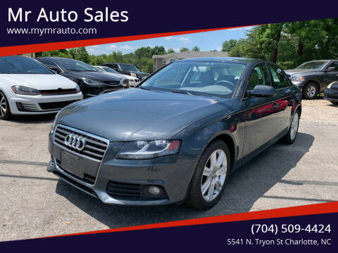 2010 Audi A4 for sale at Mr Auto Sales in Charlotte NC