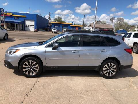 2015 Subaru Outback for sale at Midtown Motors in North Platte NE