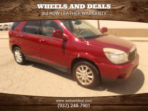 2006 Buick Rendezvous for sale at Wheels and Deals in New Lebanon OH