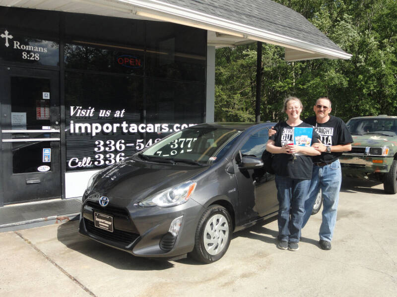 2016 Toyota Prius c for sale at importacar in Madison NC