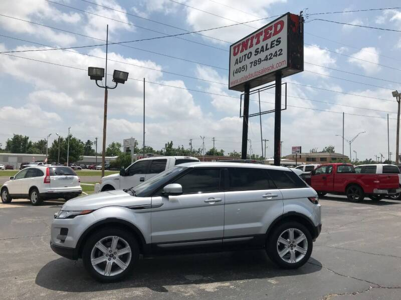 2013 Land Rover Range Rover Evoque for sale at United Auto Sales in Oklahoma City OK