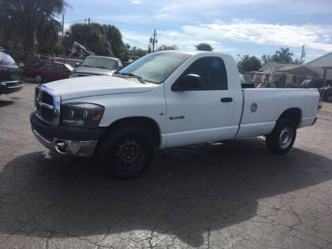 2007 Dodge Ram Pickup 1500 for sale at CAR-RIGHT AUTO SALES INC in Naples FL