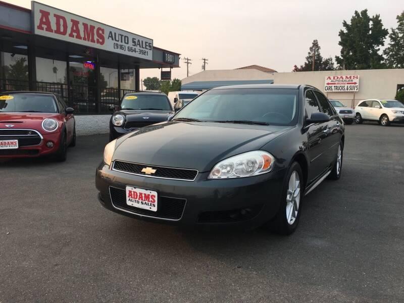 2014 Chevrolet Impala Limited for sale at Adams Auto Sales in Sacramento CA