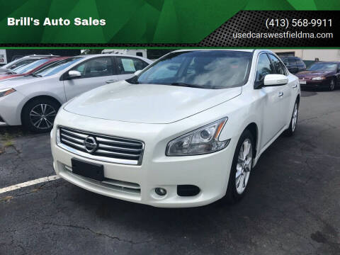 2014 Nissan Maxima for sale at Brill's Auto Sales in Westfield MA