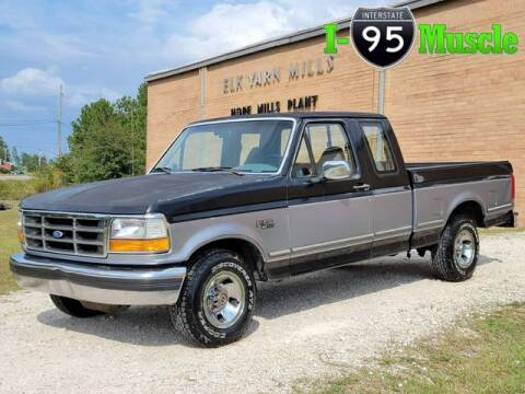 1995 Ford F-150 for sale at I-95 Muscle in Hope Mills NC