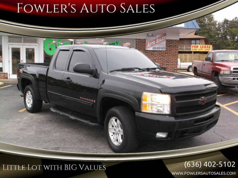 2009 Chevrolet Silverado 1500 for sale at Fowler's Auto Sales in Pacific MO