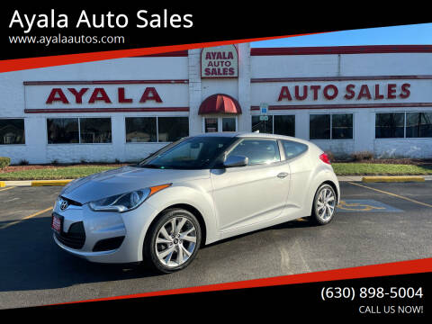 2016 Hyundai Veloster for sale at Ayala Auto Sales in Aurora IL