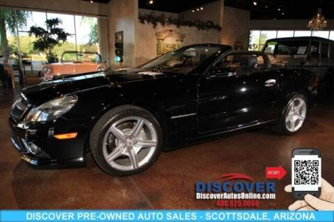 2009 Mercedes-Benz SL-Class for sale at Discover Pre-Owned Auto Sales in Scottsdale AZ