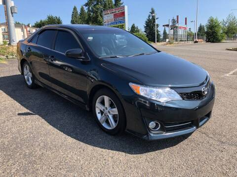 2013 Toyota Camry for sale at KARMA AUTO SALES in Federal Way WA