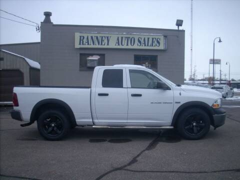 2011 RAM Ram Pickup 1500 for sale at Ranney's Auto Sales in Eau Claire WI