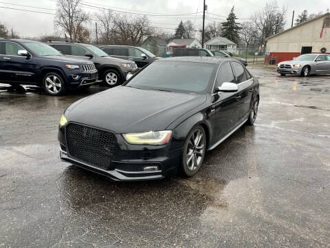 2013 Audi S4 for sale at Dean's Auto Sales in Flint MI