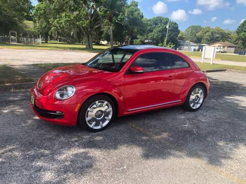 2013 Volkswagen Beetle for sale at Unique Sport and Imports in Sarasota FL