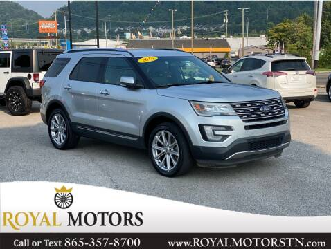 2016 Ford Explorer for sale at ROYAL MOTORS LLC in Knoxville TN
