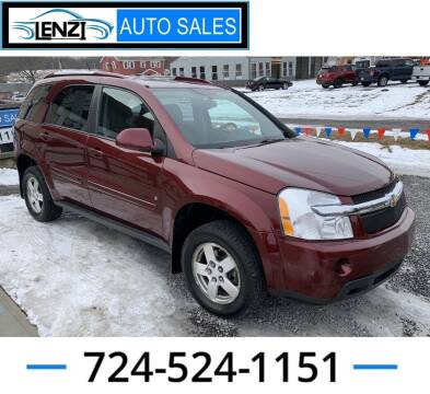 2008 Chevrolet Equinox for sale at LENZI AUTO SALES in Sarver PA