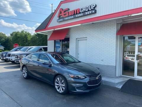2016 Chevrolet Malibu for sale at AG AUTOGROUP in Vineland NJ