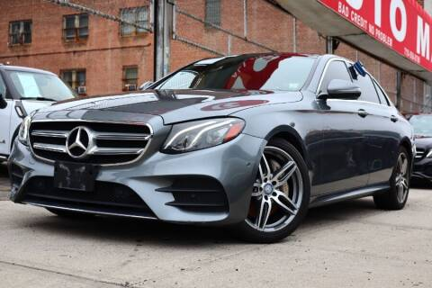 2017 Mercedes-Benz E-Class for sale at HILLSIDE AUTO MALL INC in Jamaica NY