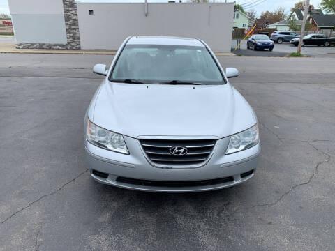2009 Hyundai Sonata for sale at L.A. Automotive Sales in Lackawanna NY