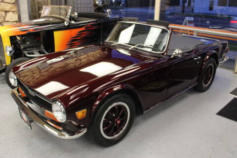 1969 Triumph TR6 for sale at Sabeti Motors in Tacoma WA