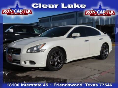 2013 Nissan Maxima for sale at Ron Carter  Clear Lake Used Cars in Houston TX